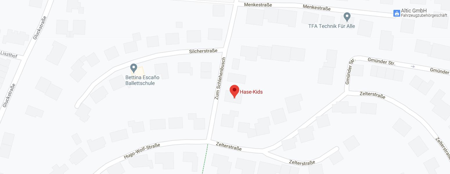 Standort Google Maps Hebammenpraxis Hase-Kids Osnabrück